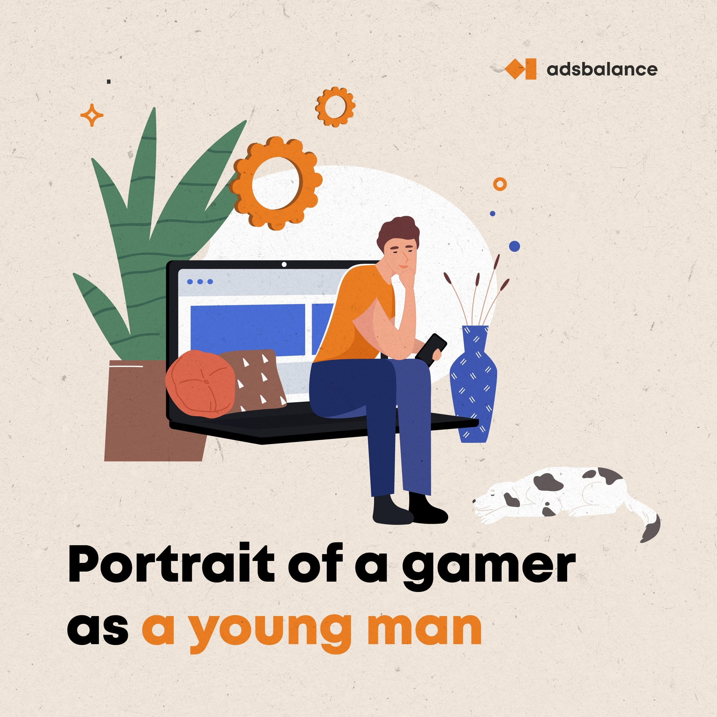 A portrait of a gamer as a young man