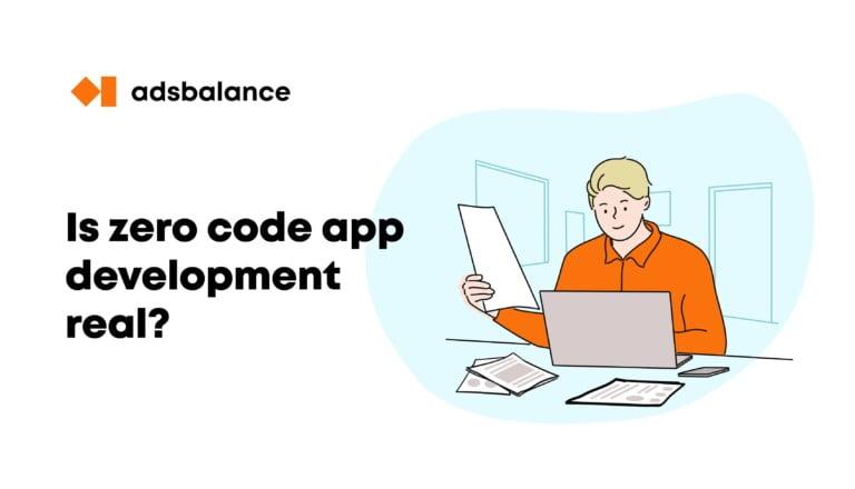 Is zero code app development real