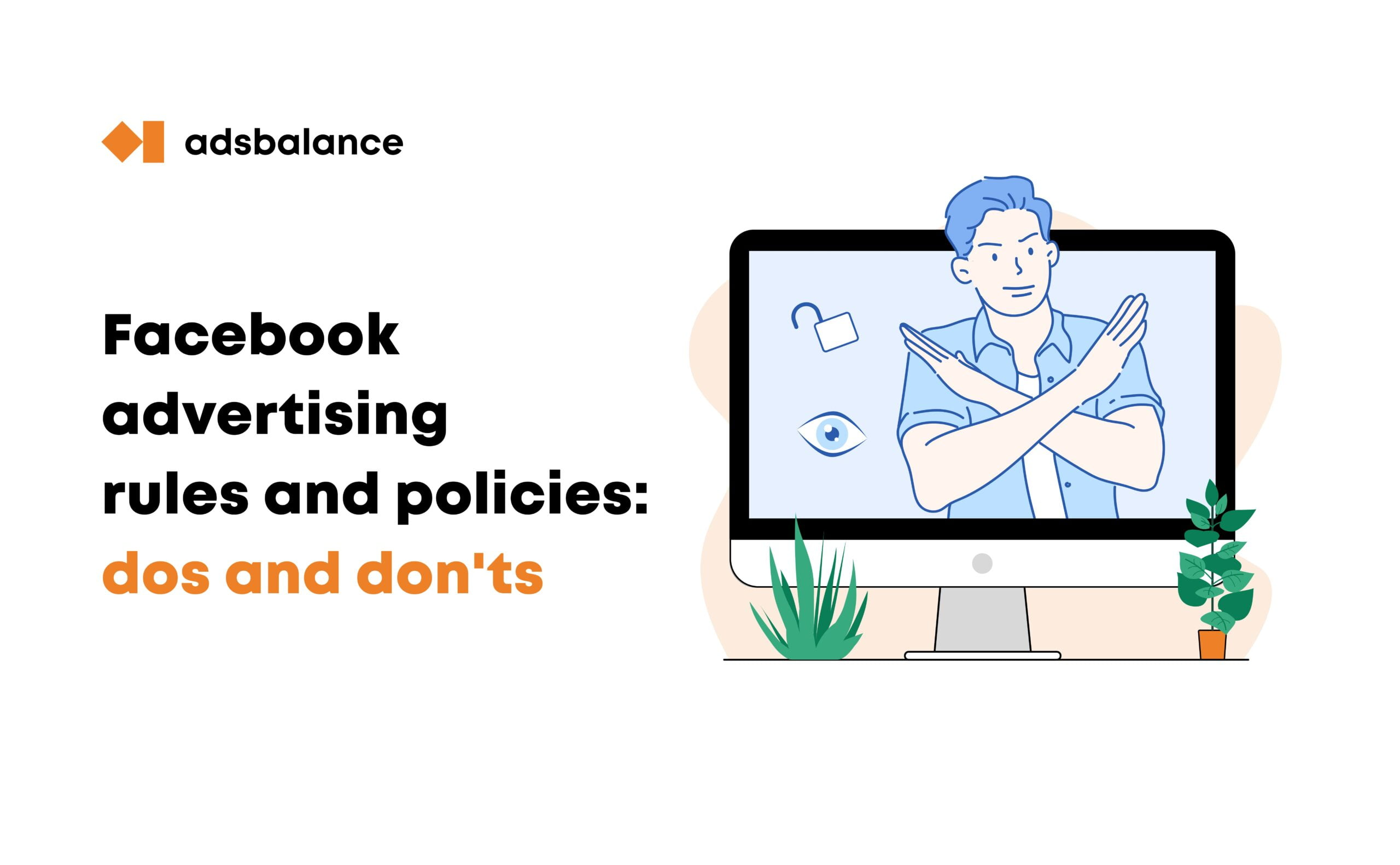 What are the rules for Facebook advertising?