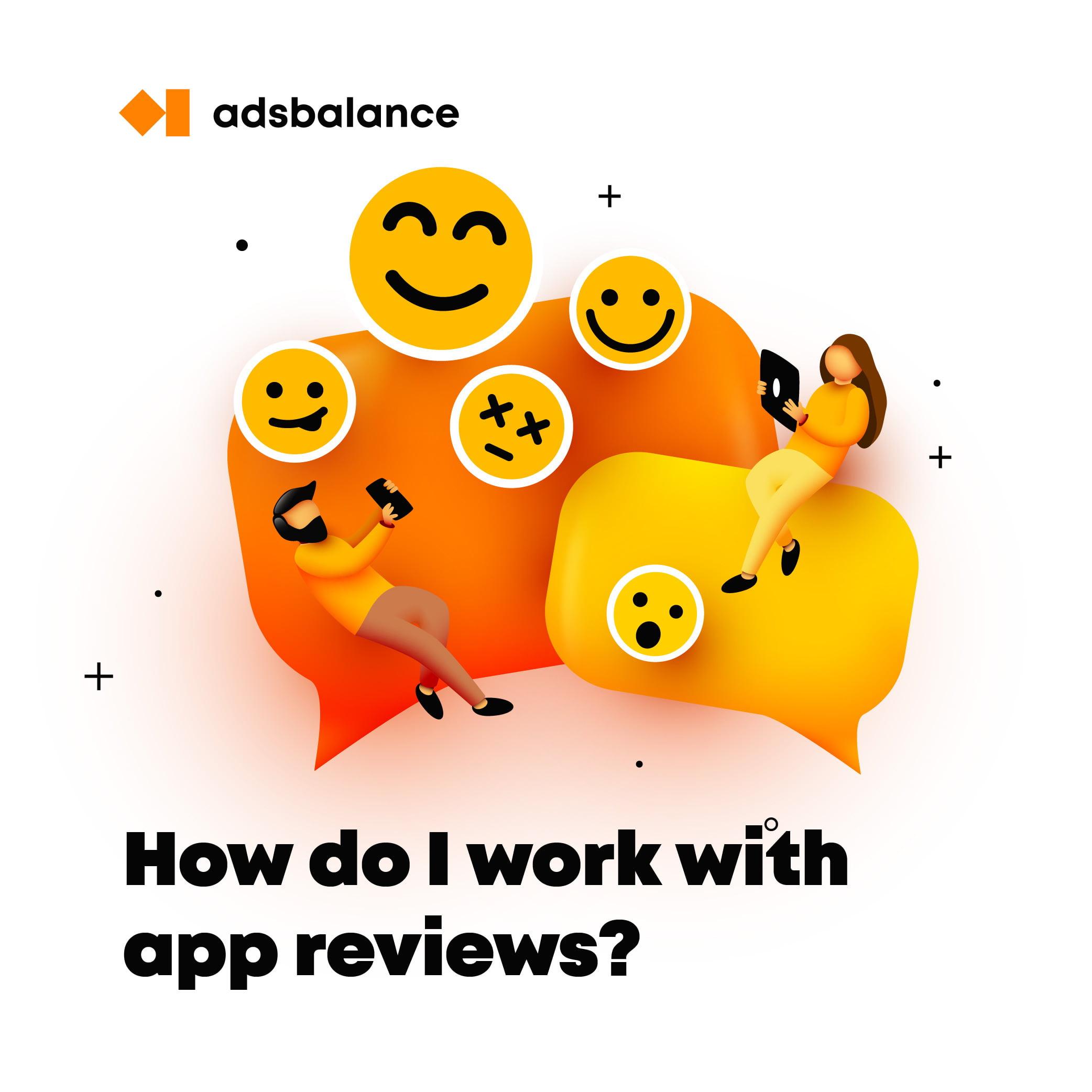 How do I work with app reviews?